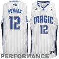adidas Dwight Howard Orlando Magic Revolution 30 Swingman Peformance Jersey - White