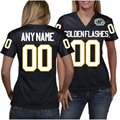 Kent State Golden Flashes Women's Personalized Fashion Football Jersey - Navy Blue