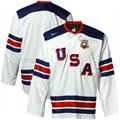 Nike USA White IIHF Throwback Hockey Jersey
