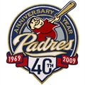 San Diego Padres 40th Anniversary Embroidered Collector Patch