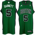 adidas Boston Celtics #5 Kevin Garnett Green Road Swingman Jersey