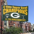 Green Bay Packers Super Bowl XLV Champions 3' x 5' 4X Champs Flag