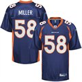 Reebok Denver Broncos Youth 2011 1st Round Draft Pick Replica Jersey - Navy Blue