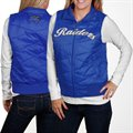 Middle Tennessee State Blue Raiders Ladies Royal Blue Full Zip Bubble Vest
