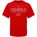adidas Nicholls State Colonels Red Sideline T-shirt