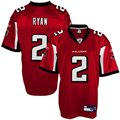 Reebok NFL Equipment Atlanta Falcons #2 Matt Ryan Red Replica Jersey