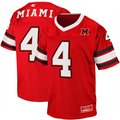 Miami University RedHawks #4 Youth Stadium Football Jersey - Red