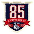 New York Rangers Embroidered 85th Anniversary Collectible Patch