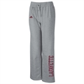 adidas Lafayette College Leopards Ladies Ash Word Plus Fleece Pants