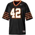 Nike Princeton Tigers #42 Black Replica Football Jersey