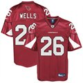 Reebok Chris Wells Arizona Cardinals Replica Jersey - Cardinal Red