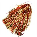 Red-Gold Metallic Rooter Pom
