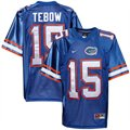 Nike  Tim Tebow Florida Gators Youth #15 Tackle Twill Football Jersey-Royal Blue