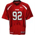 Under Armour Utah Utes #92 Replica Football Jersey - Red