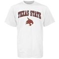 Texas State Bobcats White Bare Essentials T-shirt