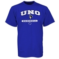 Russell New Orleans Privateers Royal Blue Baseball T-shirt
