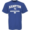 Russell Hampton Pirates Royal Blue Football T-shirt