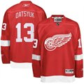Reebok Detroit Red Wings #13 Pavel Datsyuk Red Premier Hockey Jersey