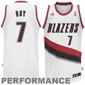 adidas Brandon Roy Portland Trail Blazers Revolution 30 Swingman Performance Jersey -White