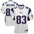 Reebok New England Patriots #83 Wesley Welker White Replica Jersey