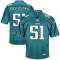 Reebok Paul Posluszny Jacksonville Jaguars Replica Jersey - Teal