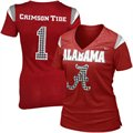 Nike Alabama Crimson Tide Ladies Premium 2011 Football Replica T-Shirt - Crimson
