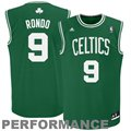 adidas Rajon Rondo Boston Celtics Revolution 30 Performance Jersey-Kelly Green-