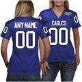 Morehead State Eagles Women's Personalized Football Jersey - Royal Blue