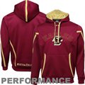 Under Armour Boston College Eagles Maroon 2011 Sideline Pullover Performance Hoodie Sweatshirt