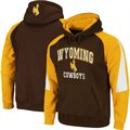 Wyoming Cowboys Brown-Prairie Gold Playmaker Pullover Hoodie Sweatshirt