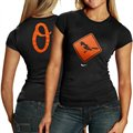 Nike Baltimore Orioles Ladies Black Local T-shirt
