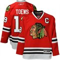 Reebok Jonathan Toews Chicago Blackhawks Edge Premier NHL Player Jersey - Red