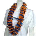 Royal Blue & Orange Lei