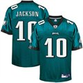 Reebok Philadelphia Eagles #10 DeSean Jackson Green Replica Football Jersey