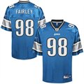 Reebok Nick Fairley Detroit Lions Youth 2011 1st Round Draft Pick Replica Jersey - Blue