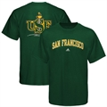 adidas San Francisco Dons Green Relentless T-shirt