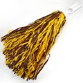 Maroon & Gold Pompom