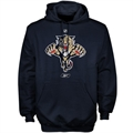 Reebok Florida Panthers Navy Blue Primary Logo Hoody Sweatshirt
