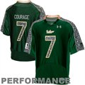 Under Armour South Florida Bulls #7 Wounded Warrior Project Replica Football Jersey - Green