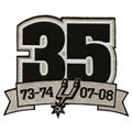 San Antonio Spurs Embroidered 35th Anniversary Collectible Patch