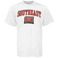 SE Missouri State Redhawks White Bare Essentials T-shirt