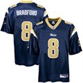 Reebok Sam Bradford St. Louis Rams Replica Jersey - Navy Blue