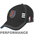 adidas Charlotte Bobcats Black Official Draft Day Performance Stretch Fit Hat