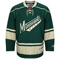 Reebok Minnesota Wild Green Premier Hockey Jersey