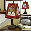 Washington Redskins Art-Glass Table Lamp