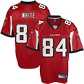 Reebok Roddy White Atlanta Falcons Replica Jersey - Red
