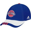 adidas Detroit Pistons Royal Blue 2008 NBA Draft Day 1-Fit Flex Fit Hat