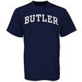 Butler Bulldogs Navy Blue Vertical Arch T-shirt