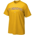 Nike St. Bonaventure Bonnies Gold College Classic T-shirt
