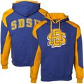 South Dakota State Jackrabbits Royal Blue-Gold Challenger Hoody Sweatshirt